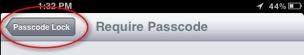 iPad-Passcode-Lock-Arrow