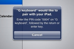 iPad-Bluetooth-pin-code-popup