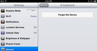 iPad-Bluetooth-screen-forget-device