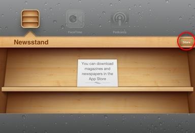 iPad-newsstand-first-time-screen