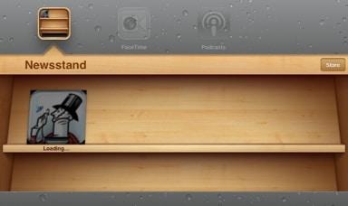 iPad-newsstand-magazine-download-in-progress