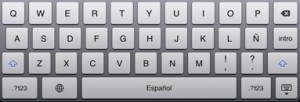 iPad-keyboard-spanish