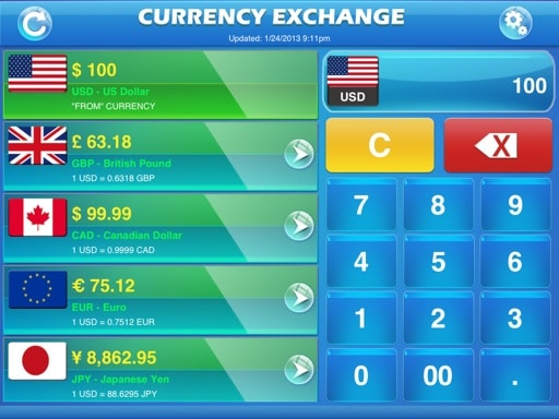 currency-exchange-snapshot