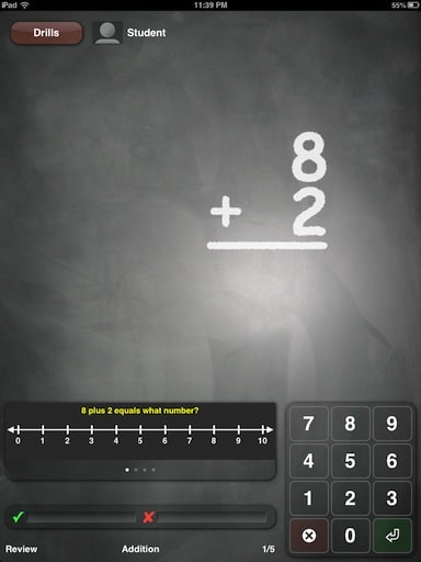 math-drills-app-snapshot