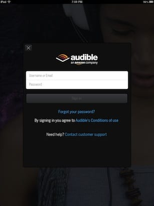 audible-login-screen