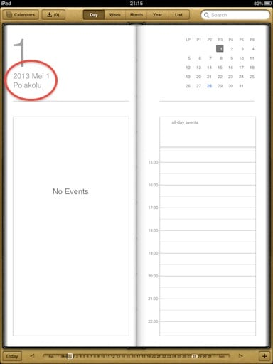 ipad-calendar-hawaii-region-format