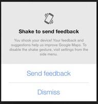 google-maps-shake-feedback