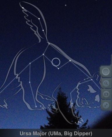 skyview app big dipper