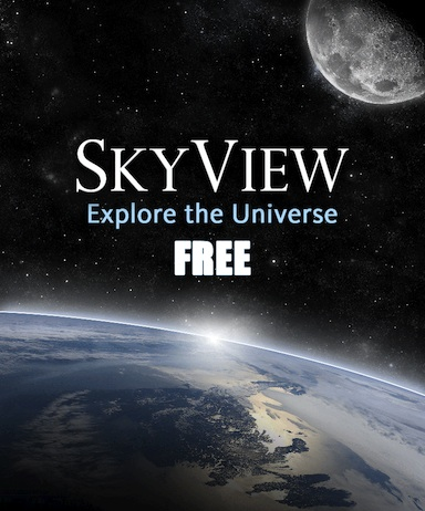 skyview app free explore the universe
