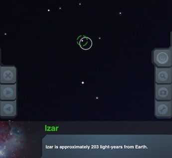 skyview app star izar