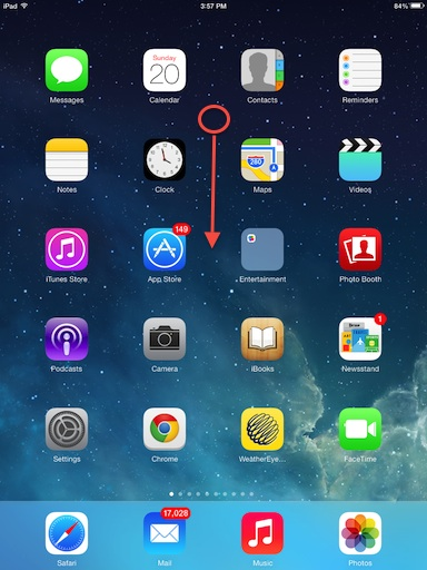 accessing-ipad-search-ios7