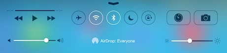 ipad-control-center-airdrop-on