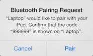 ipad-air-bluetooth-pairing-request