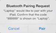 ipad-air-bluetooth-pairing-request