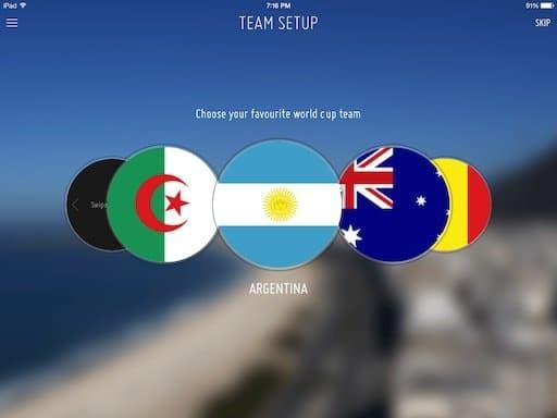 fifa for ipad team setup