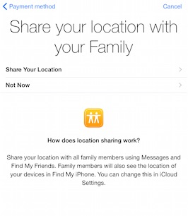 ipad-family-sharing-share-location