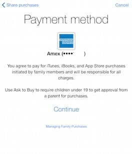 ipad-family-sharing-valid-payment-method