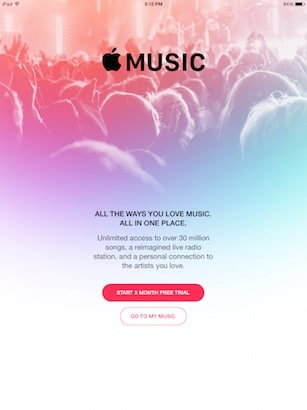 apple music 3 month free trial