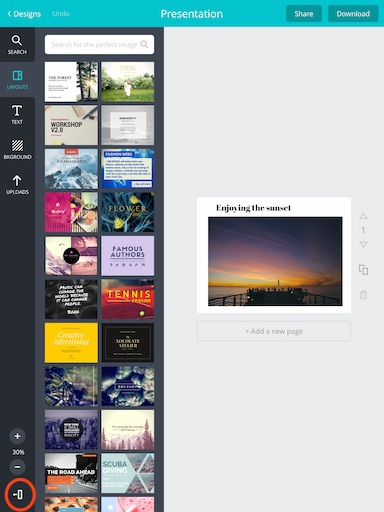 Canva App blog graphic design